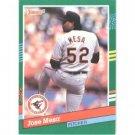 1991 Donruss 765 Jose Mesa