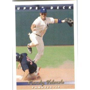 1993 Upper Deck # 93 Randy Velarde