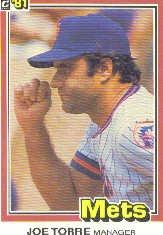 1981 Donruss #506 Joe Torre MG