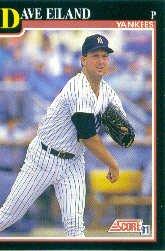 1991 Score #826 Dave Eiland