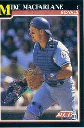 1991 Score #839 Mike Macfarlane