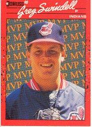 1990 Donruss Bonus MVP's #BC24 Greg Swindell DP