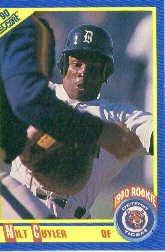 1990 Score #583A Milt Cuyler