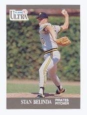 1991 Ultra #273 Stan Belinda