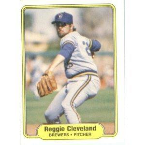 1982 Fleer 137 Reggie Cleveland