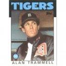 1986 Topps 130 Alan Trammell