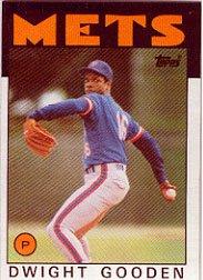 1986 Topps 250 Dwight Gooden