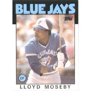 1986 Topps 360 Lloyd Moseby