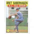1986 Topps 720 Bret Saberhagen AS