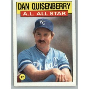 1986 Topps 722 Dan Quisenberry AS