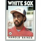 1986 Topps 755 Harold Baines