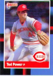 1988 Donruss 142 Ted Power