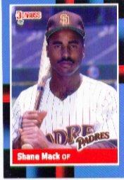 1988 Donruss 411 Shane Mack