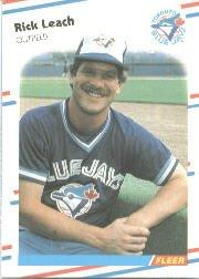 1988 Fleer 115 Rick Leach