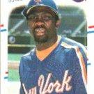 1988 Fleer 154 Mookie Wilson