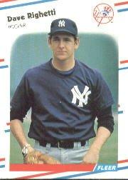 1988 Fleer 220 Dave Righetti