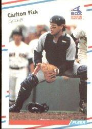 1988 Fleer 397 Carlton Fisk