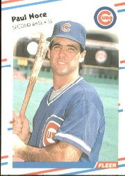 1988 Fleer 428 Paul Noce