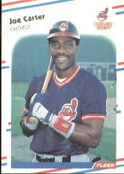 1988 Fleer 605 Joe Carter
