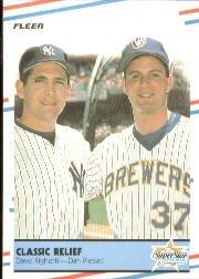 1988 Fleer 625 Dave Righetti/Dan Plesac