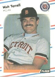 1988 Fleer 72 Walt Terrell
