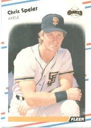 1988 Fleer 96 Chris Speier