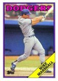 1988 Topps 249 Mike Marshall