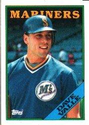1988 Topps 583 Dave Valle
