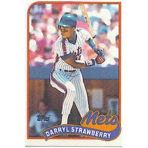 1989 Topps 300 Darryl Strawberry