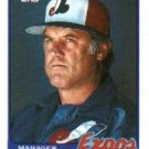 1989 Topps 474 Bob Rodgers MG
