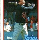 1989 Topps 577 Randy Bush
