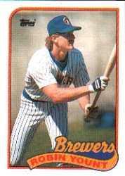1989 Topps 615 Robin Yount