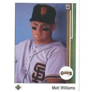 1989 Upper Deck 247 Matt Williams