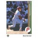 1989 Upper Deck 340 Bob Dernier