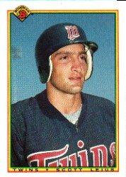 1990 Bowman 423 Scott Leius RC