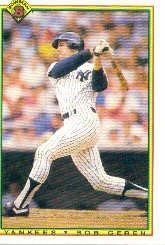1990 Bowman 438 Bob Geren
