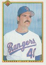 1990 Bowman 485 Jeff Russell