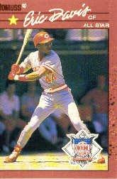 1990 Donruss 695B Eric Davis AS/(All-Star Game/Performance)