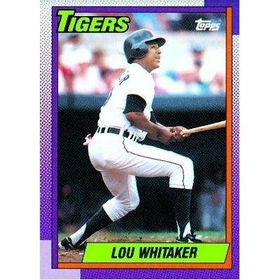 1990 Topps 280 Lou Whitaker