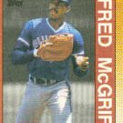 1990 Topps 385B Fred McGriff AS