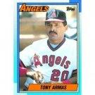 1990 Topps 603 Tony Armas
