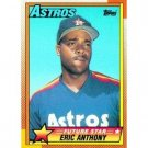 1990 Topps 608 Eric Anthony RC