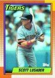 1990 Topps 632 Scott Lusader
