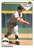 1990 Upper Deck 358 Jeff Brantley