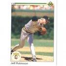 1990 Upper Deck 403 Jeff D. Robinson