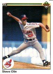 1990 Upper Deck 553 Steve Olin RC