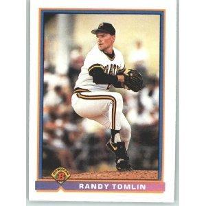1991 Bowman 518 Randy Tomlin RC