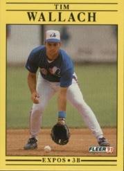 1991 Fleer 251 Tim Wallach
