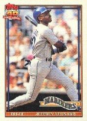 1991 Topps 55 Jeffrey Leonard