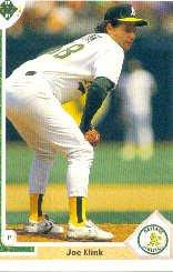 1992 Upper Deck 468 Joe Klink